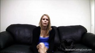 Curious Scarlett At Her First Casting