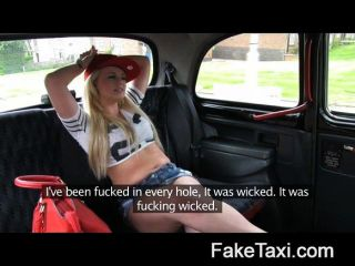 Faketaxi - Ass Licking Council Estate Slut