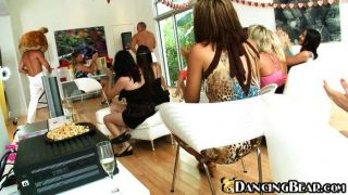 Girls Having A Private Party