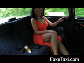 Faketaxi - Beautiful Brunette Fucked