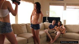 Nubiles Casting - An Unexpected Threesome