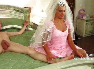 Bondage At The Wedding Night