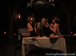 Hotties In The Luxury Machine Castle
