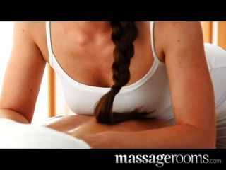 Sexy Masseuse Girl With Big Boobs Sucks Out Stress
