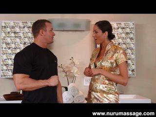 Angelica Saige Massage Blowjob