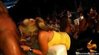 Blond Hottie Is Very Extroverted