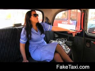 Faketaxi - Naughty Nurse In Cab Confession