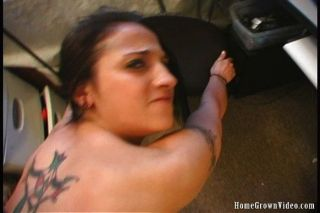Sexy Tattooed Teen Gets Pounded