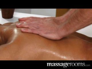 Massage Rooms - Petite Dark Skinned Beauty