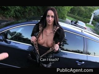 Publicagent - Brown Haired Beauty Fucked