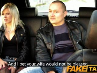 Faketaxi - Husband Watches Wife Having Sex