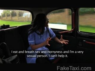 Faketaxi - Sexy Nurse Wearing No Knickers