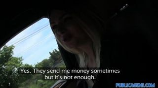 Publicagent - Young Beautiful Blonde Russian
