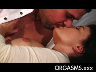 Orgasms - Black Haired Girl With Amazing Body