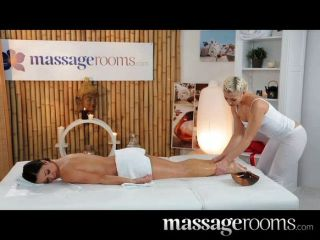 Massage Rooms - Sexy Young Lesbians Have Sex