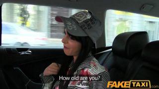 Faketaxi - Taxi Driver Convinces Her To Fuck