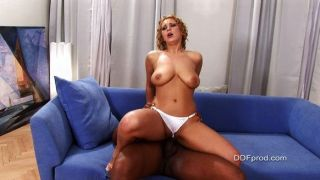 Luba Love Nailed By Black Cock