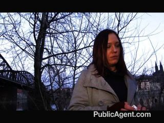 Publicagent - Brunette Is Paid For Sex