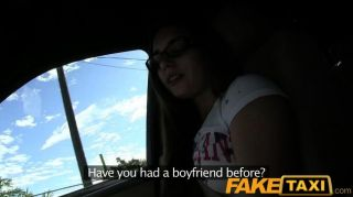 Faketaxi Student Does The Dirty For Cash
