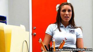Sexy Schoolgirl Classroom Rammed