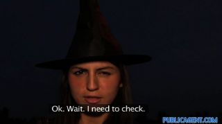 Publicagent - Halloween Witch Gets Fucked