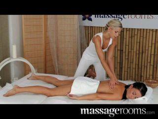Massagerooms - Filthy Lesbian Girls Cum