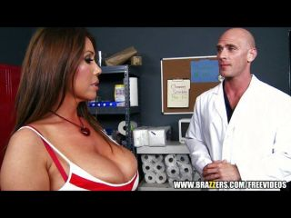 Big-tit Brunette Fucks Her Doctor