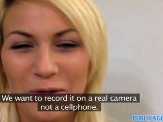 Publicagent - Pretty Blonde Fucks A Big Cock