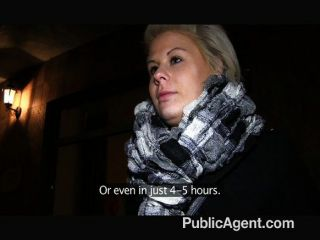 Publicagent - Partners In Porn Trick Blonde