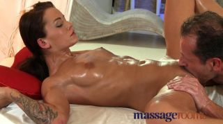 Massage Rooms - Licking And Fingering Pussy
