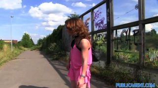 Publicagent - Gullible Milf Shows Her Thong