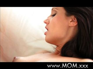Brunette Milf Gets Some Sweet Loving