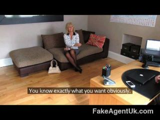 Fakeagentuk - Mature Milf Wants Young Stud