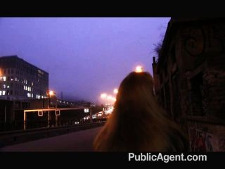 Publicagent - Big Cock Fucking Through Nylons
