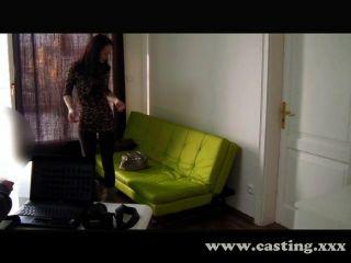 Amateur Brunette Loves Anal Casting