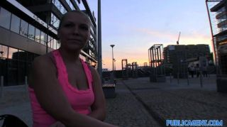 Publicagent - Russian Blonde Fucked Outside