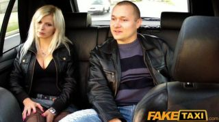Faketaxi Big Tits Blonde Fucks On Backseat