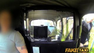 Faketaxi - Posh Blonde Caught Having A Piss