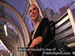 Publicagent - Long Leggy Blonde Fucked Hard