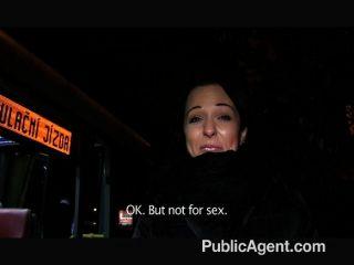 Publicagent - Nikki Gullible Student Strips