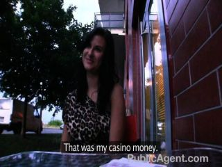 Publicagent - Sexy Brunette Picked Up