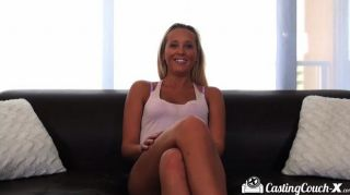 Casting Couch-x Florida Beach Blonde Fucks