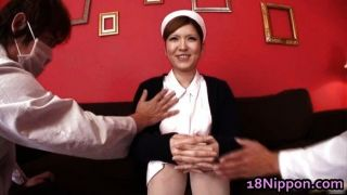 Hot Asian Nurse Fondled