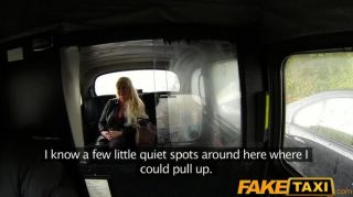 Faketaxi - Fucks Blonde Milf With Big Tits