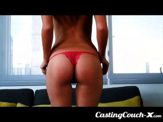 Castingcouch X - Slut Shows Her Tight Pussy