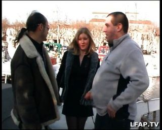 French Blonde Slut Sodomized