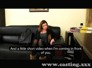 Horny Amateur Sucks And Fucks In Casting