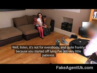 Fakeagentuk - Potty Mouthed Milf In Casting