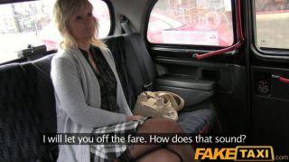 Faketaxi - Blonde Milf Fucks Taxi Driver