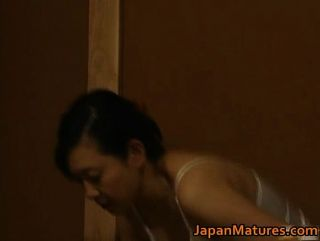 Japanese Mature Lady Is In For Some Hot Cock